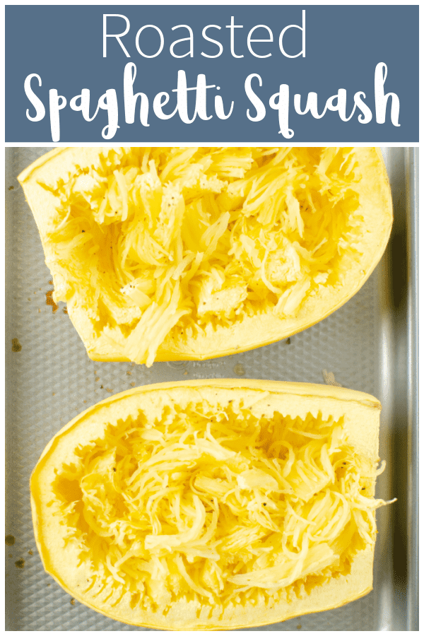Roasted Spaghetti Squash is so simple and makes a delicious base to so many healthy meals! Use it as a low carb pasta substitute or bake it into a casserole - it's delicious no matter how you use it.