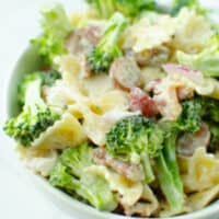 Broccoli Grape Pasta Salad